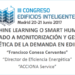 Machine learning o smart humans? Aplicado a monitorización y gestión energética de la demanda de edificios