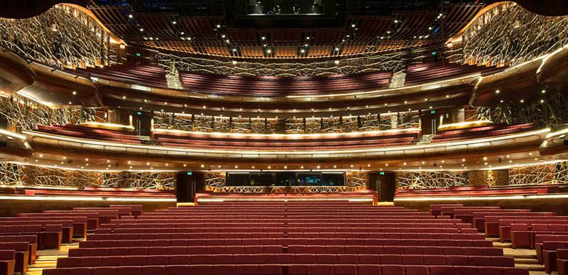 Auditorio de la Ópera de Dubái