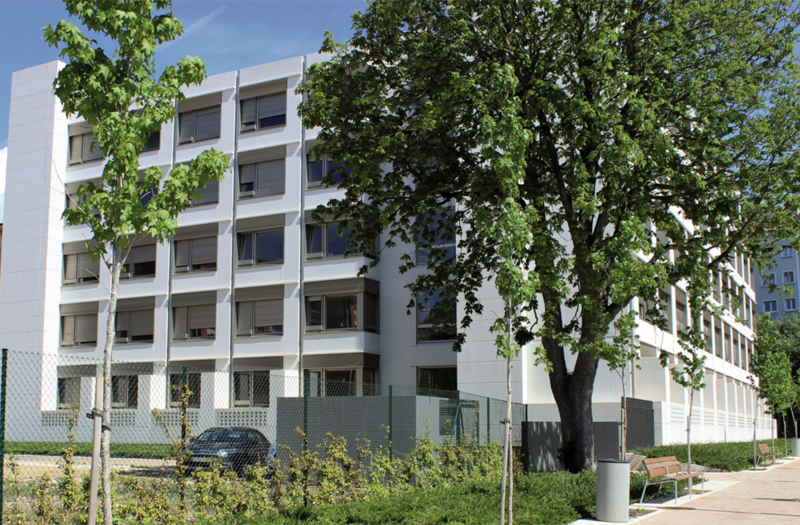 Edificio nuevo Casa Misericordia