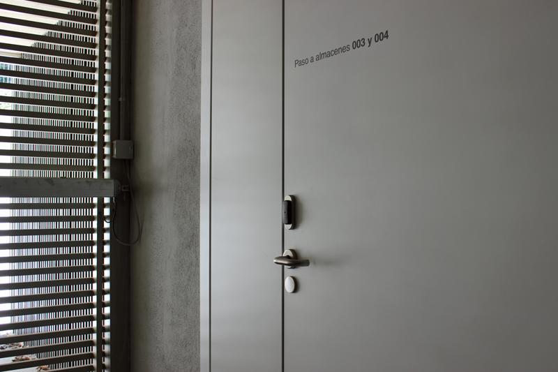 Control de accesos en Casa Misericordia