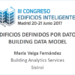 Edificios definidos por datos Building Data Model