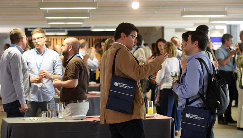 Cóctel networking en el III Congreso Edificios Inteligentes