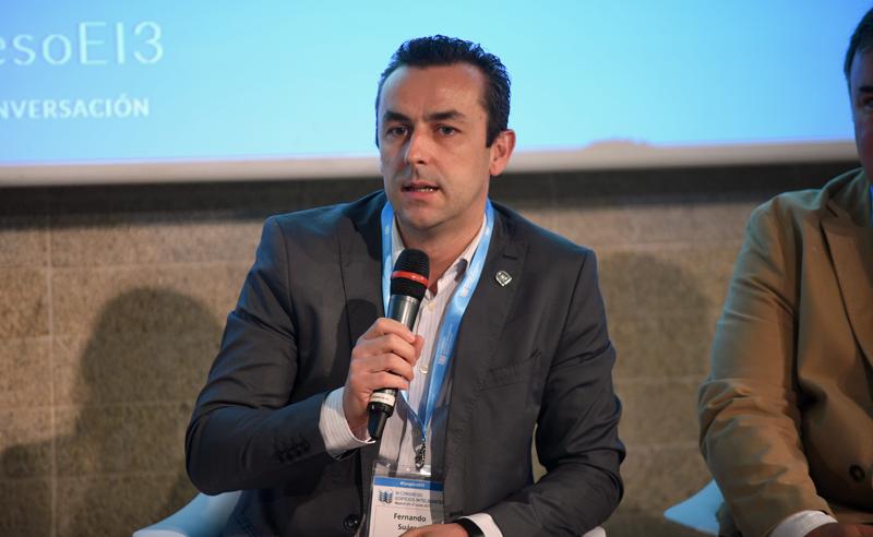 Fernando Suárez, Vicepresidente Primero de CCII