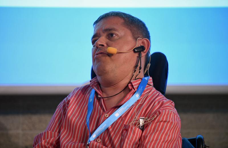 Julián Fernández, de la Fundación Polibea