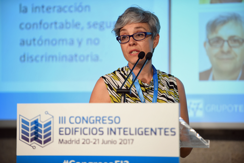 Rosa Rodríguez, Responsable del Departamento Técnico, de la Fundación Shangri-la