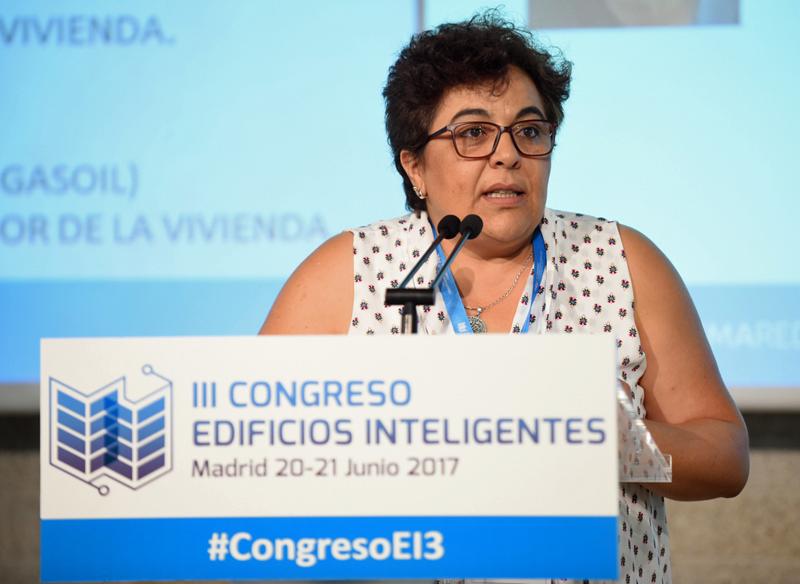 Sagrario Conejero, Jefa de Sección Arquitectura de la Dirección General de Arquitectura de la Junta de Extremadura.
