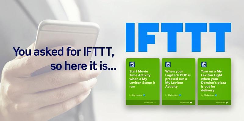 Funciones IFTTT de Leviton
