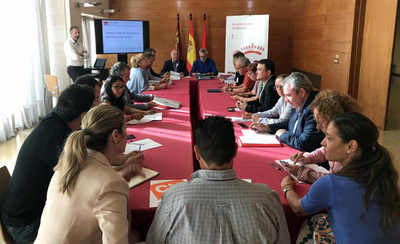Comisión de Infraestructuras, Hacienda y Asuntos Generales del Ayuntamiento de Murcia