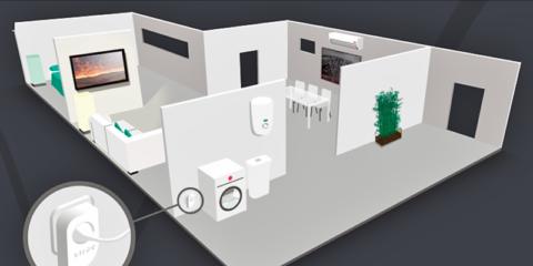 Las nuevas tecnologías al servicio del control y de la gestión inteligente de los edificios. El control del hogar en el Smartphone
