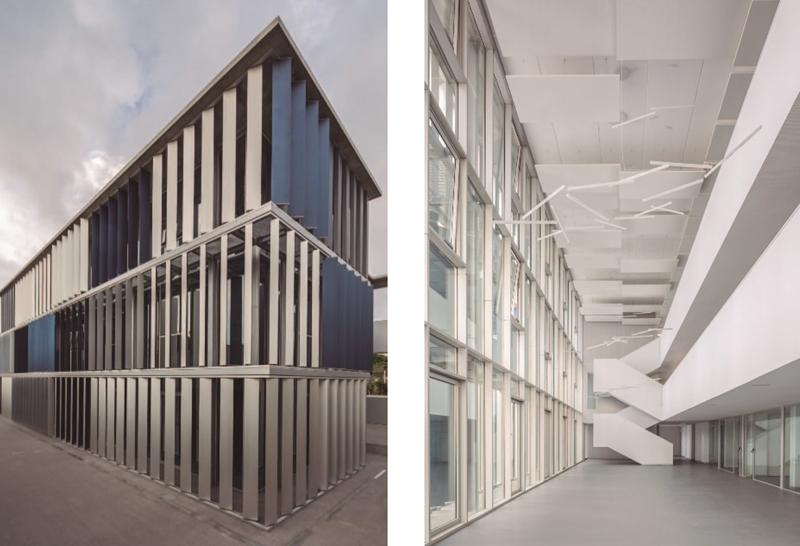 Figura 1. Vistas exterior e interior del proyecto.