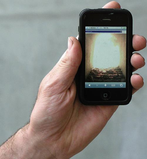 iPhone para monitorizar las grabaciones de las cámaras MOBOTIX