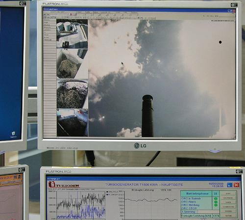 Monitorización de las grabaciones de las cámaras MOBOTIX