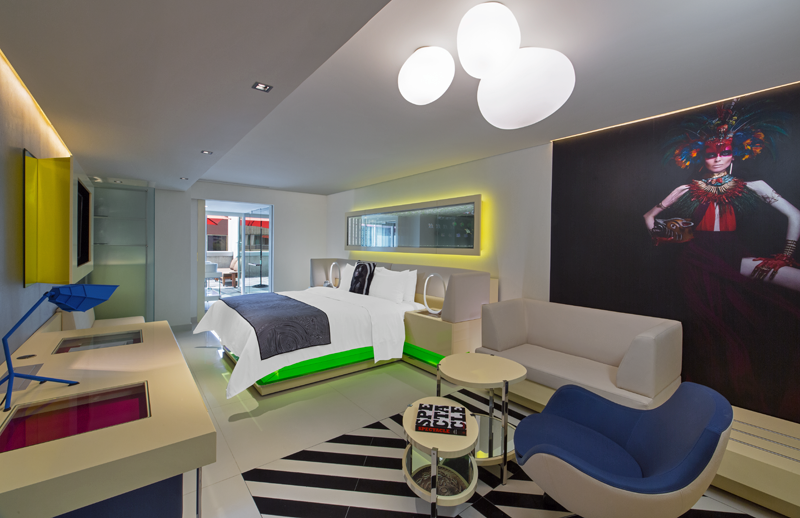 Habitación del Hotel W México City