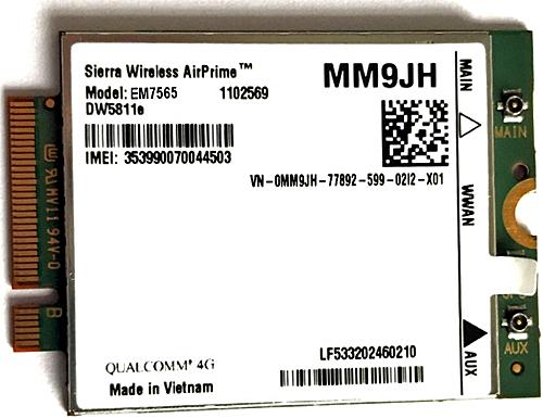 Módulo AirPrime® EM7565 de Sierra Wireless