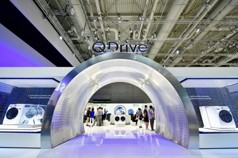 Lavadora Serie 8 de Samsung con tecnología QDrive