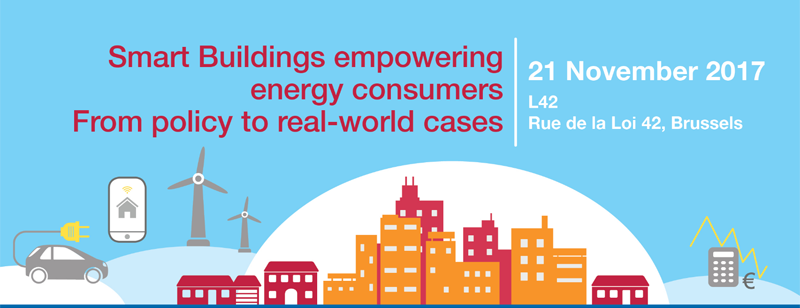 Smart buildings empowering energy consumers. From policy to real-world cases