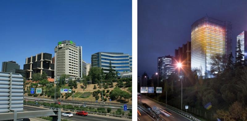 Figura 1. Torre Ilunion 2014-2016.