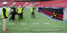 El Estadio Wanda Metropolitano acoge el ABB Experience, el encuentro anual con los distribuidores de material eléctrico