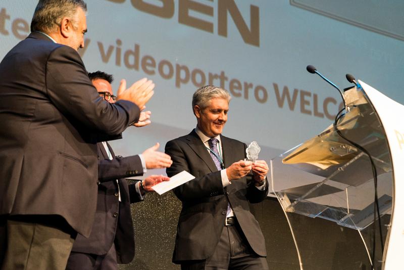 Entrega premio Welcome Niessen