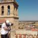 El Plan Románico Atlántico equipará con sensores a la catedral de Ciudad Rodrigo para su monitorización