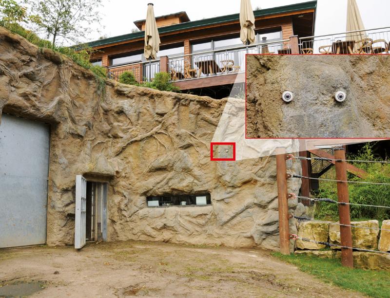 Cámaras Mobotix en Opel Zoo