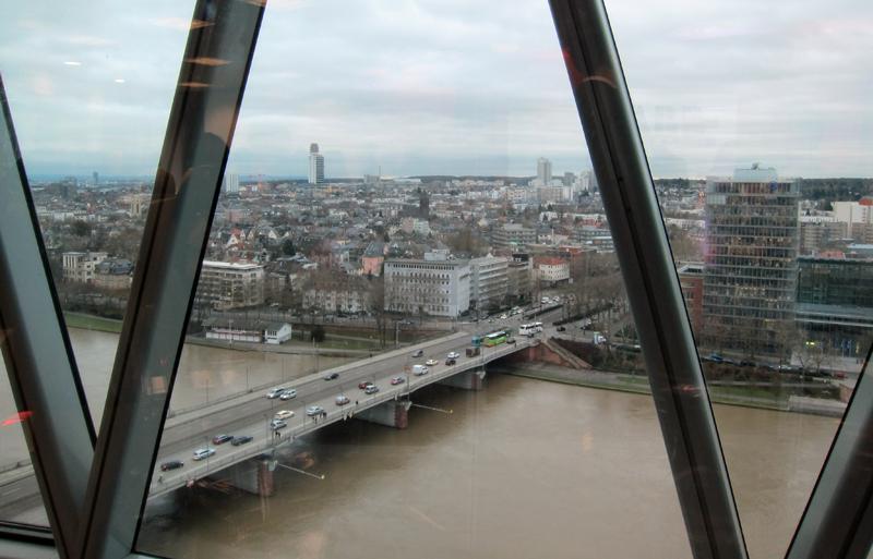 Vistas desde Westhafentower