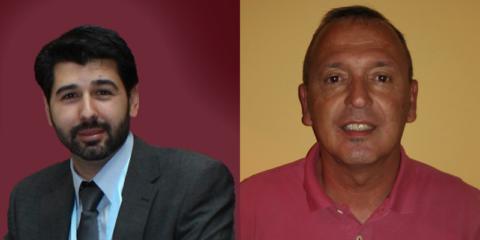 Raúl Llamazares y Pablo Burgos, de GEWISS IBÉRICA