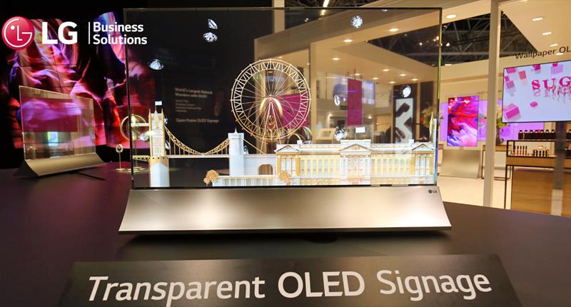 LG Transparent