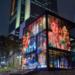 LightPoints in Motion, un sistema que convierte el vidrio en un soporte para la proyección multimedia