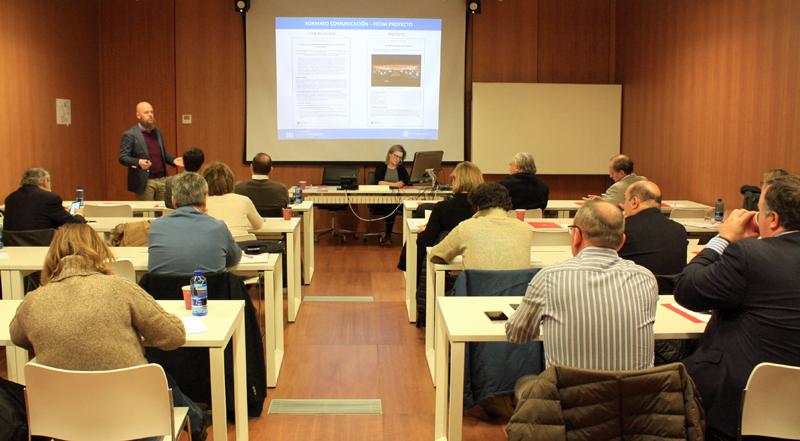 Primera Reunión del Comité Técnico del IV Congreso Edificios Inteligentes.