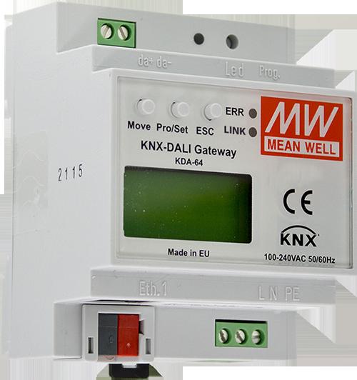 Componente electrónico KNX de MeanWell