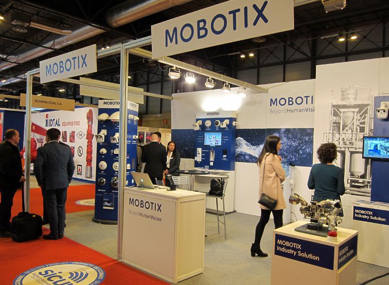 Stand de Mobotix en SICUR 2018