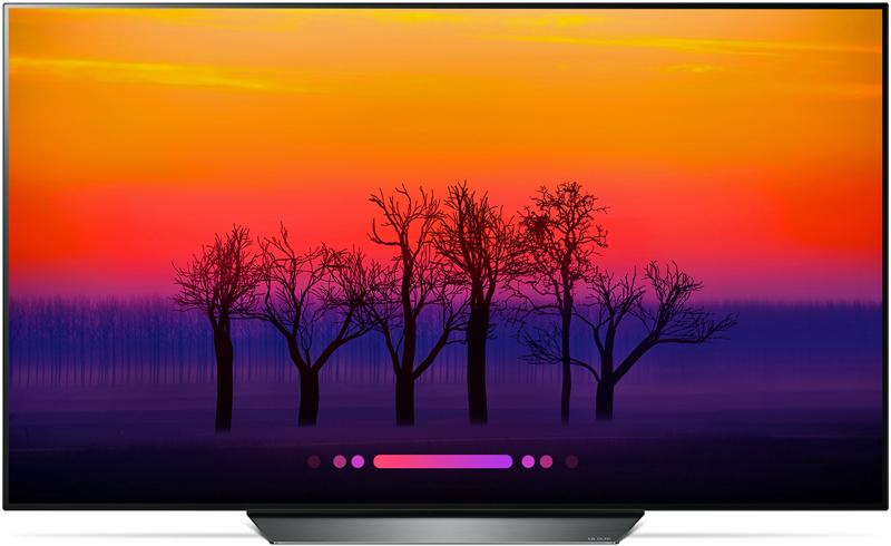 Televisor OLED LG con IA