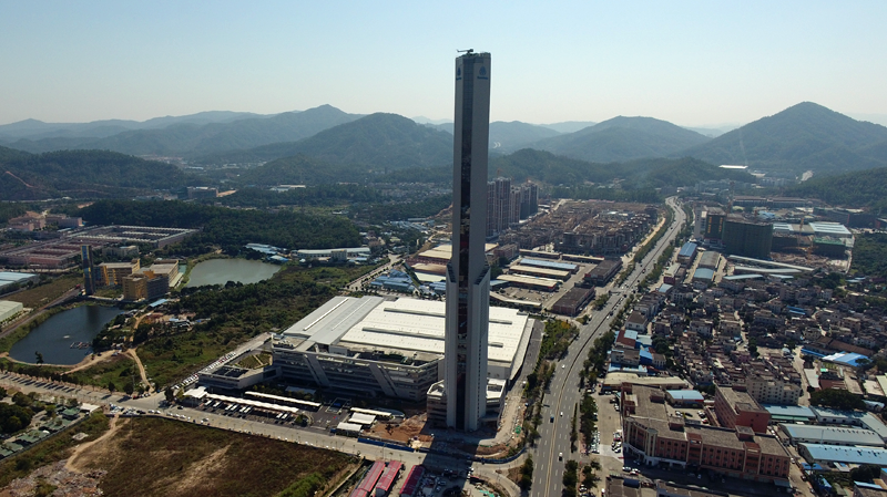 Torre en Zhongshan