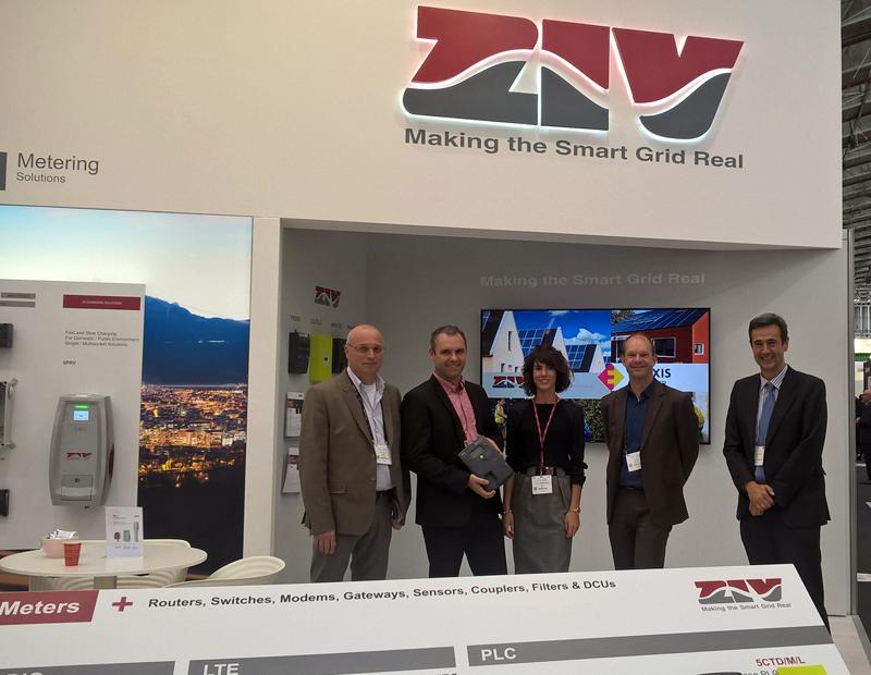 Miembros del equipo de Enexis Netbeheer & ZIV en la pasada edición de la EUW 2018 in Amsterdam.