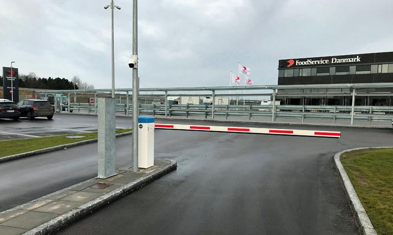 Control de acceso a Foodservice Danmark