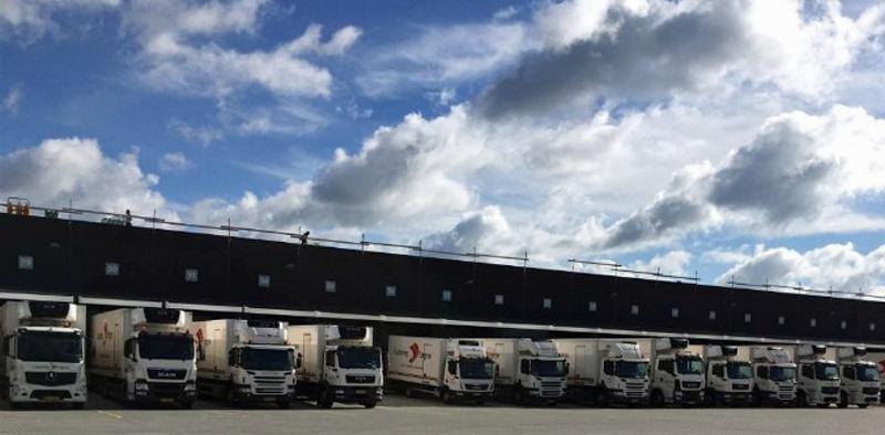 Camiones en Foodservice Danmark
