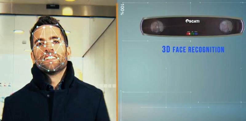 Reconocimiento facial de Scati