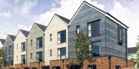 Sommar Place, viviendas sostenibles de diseño sueco y con tecnologías Smart Home de Apple HomeKit