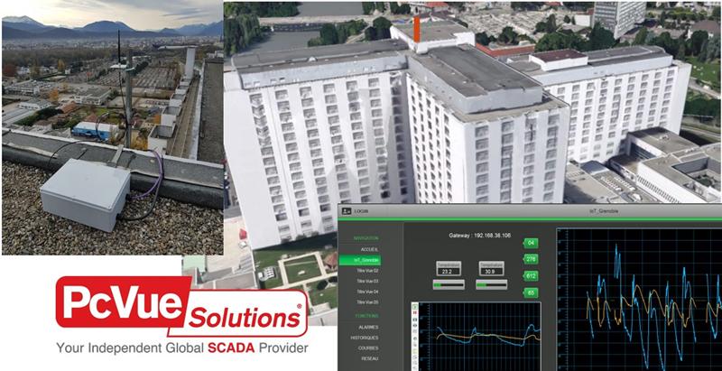 Sistema de gestión de edificios de Adeunis y ARC Informatique