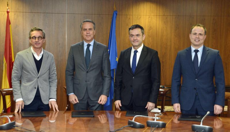 Firma del acuerdo de colaboración entre SESIAD, Cisco, Red.es e INCIBE