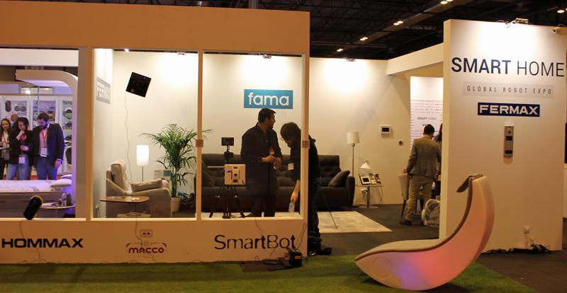 Stand de Fermax en la Madrid Global Robot Expo