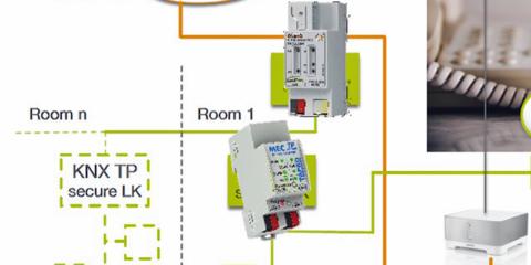 La seguridad en Smart Homes y edificios alcanza una nueva dimensión con KNX Secure