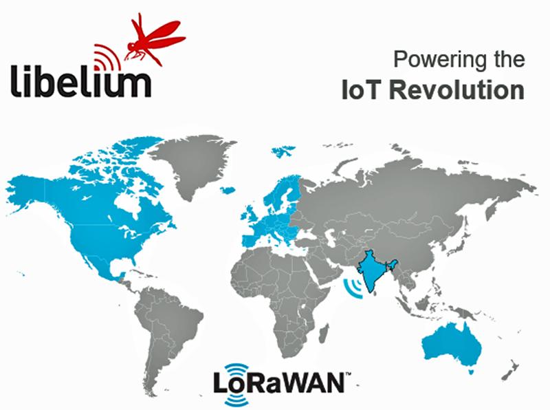 Libelium amplía su cobertura LoraWAN y llega a la India