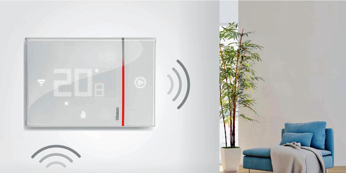 Termostato Smarther Con Wi Fi Integrado De Bticino Una