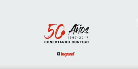 Vídeo conmemorativo del 50 aniversario de Legrand