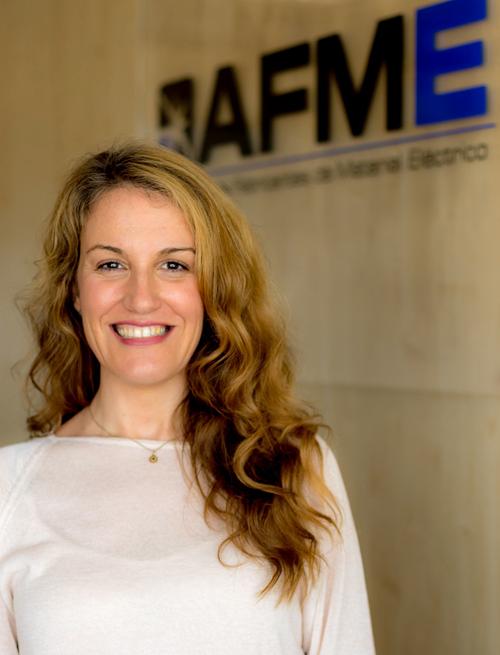 Beatriz Novel de AFME, Presidenta del Comité Europeo de Normalización y Automatización de Viviendas y Edificios