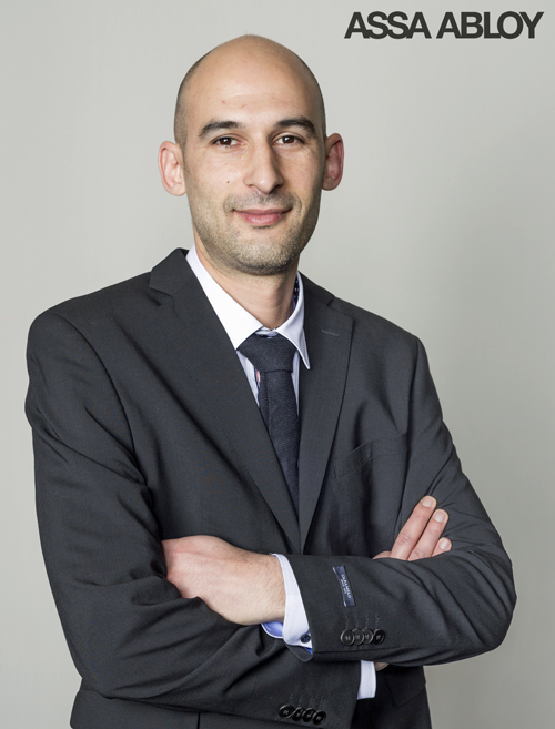 Alberto Martínez. nuevo director de operaciones de la división industrial de Assa Abloy