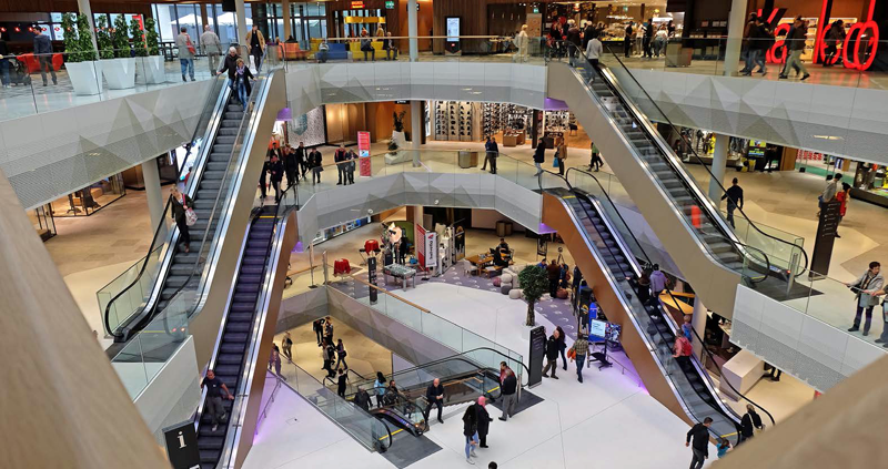 Mall of Switzerland dotado con sistemas de seguridad Bosch