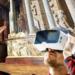Los visitantes del Teatro Romano de Mérida viajan al pasado gracias a la Realidad Virtual de Imageen